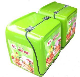 thùng giao hàng ,thức ăn nhanh bằng nhựa composite